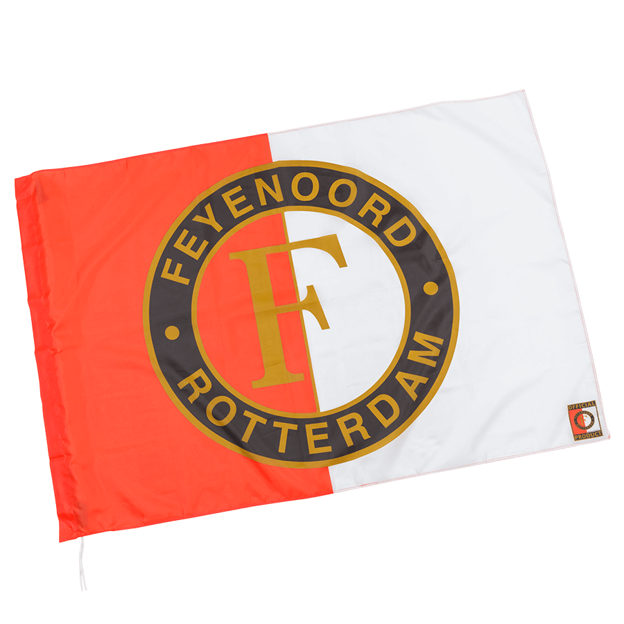 Feyenoord Flag Home Red White I Official Feyenoord Fanshop